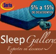 Descuento de Colchone Hasta 15% en Sleep Gallery