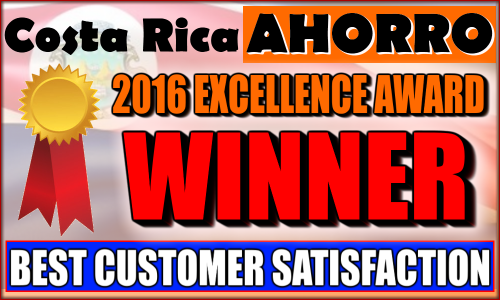Best Customer Satisfaction Company in Costa Rica Award